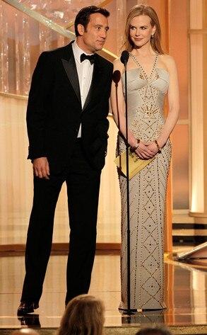 Clive Owen, Nicole Kidman, Golden Globes