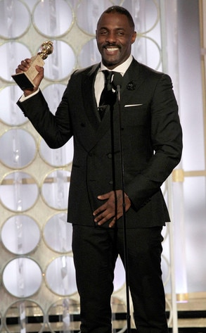 Idris Elba, Luther, Golden Globes