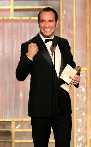 Jean Dujardin, Golden Globes