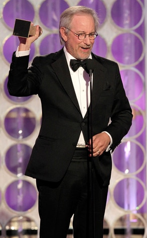 Steven Spielberg, Golden Globes