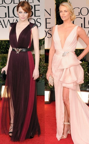 Emma Stone, Charlize Theron