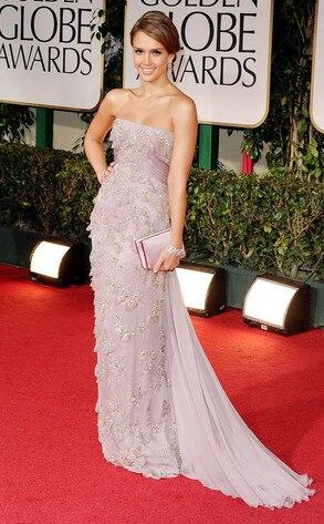 Jessica Alba Golden Globes