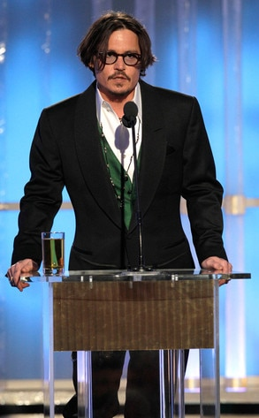 Johnny Depp, Golden Globes