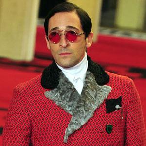 Prada Fashion Show, Adrien Brody