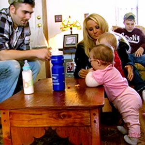 Corey Simms, Leah Messer, Ali, Aleeah, Teen Mom
