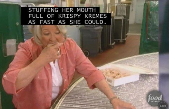 Soup Paula Dean Donuts X2