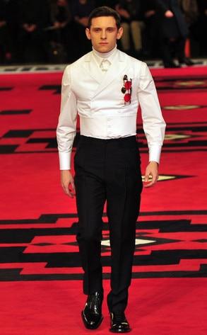 Prada Fashion Show, Jamie Bell