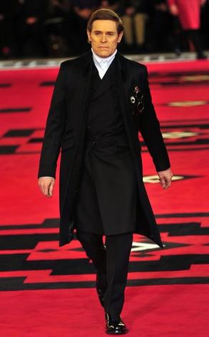 Prada Fashion Show, Willem Dafoe