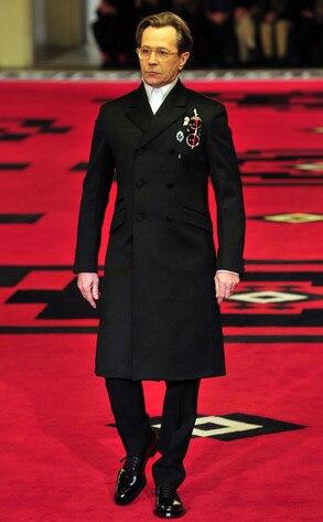 Prada Fashion Show, Gary Oldman
