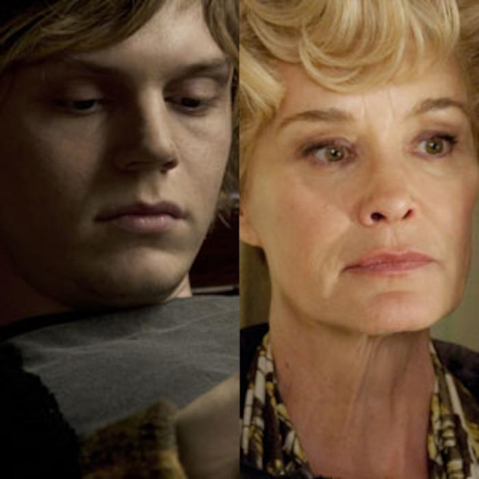 American Horror Story, Jessica Lange, Evan Peters