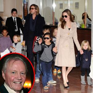Angelina Jolie, Brad Pitt, Family, Jon Voight
