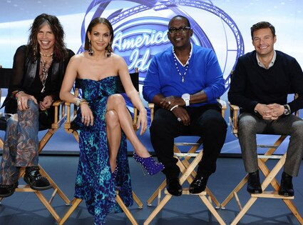 AMERICAN IDOL, Steven Tyler, Jennifer Lopez, Randy Jackson, Ryan Seacrest
