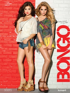 Lucy Hale, Ashley Benson, Bongo