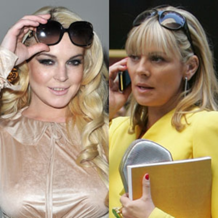 Lindsay Lohan, Kim Cattrall, Sex And The City