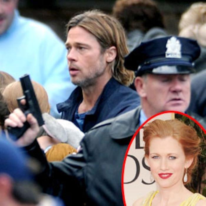 Brad Pitt, Mireille Enos