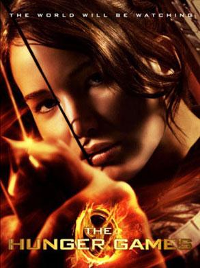 Hunger Games, Poster, Jennifer Lawrence