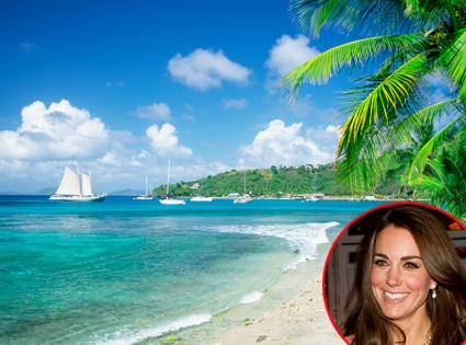 Catherine, Duchess of Cambridge, Kate Middleton, Mustique
