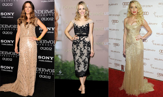 Rachel McAdams, Kate Beckinsale, Amber Heard
