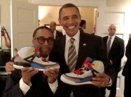 Spike Lee, Barack Obama, Twitter