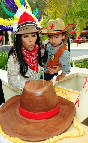 Mason Disick, Kourtney Kardashian, 2nd Birthday Party