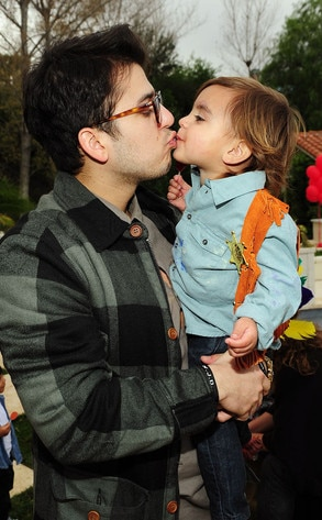 Mason Disick, Rob Kardashian, 2nd Birthday Party