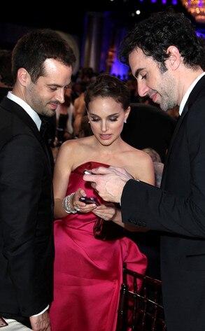 Benjamin Millepied Natalie Portman Amp Sacha Baron Cohen
