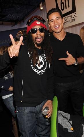 Lil Jon, Mario Lopez, Sundance