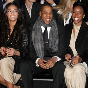 Beyonce Knowle, Jay Z, Kelly Rowland