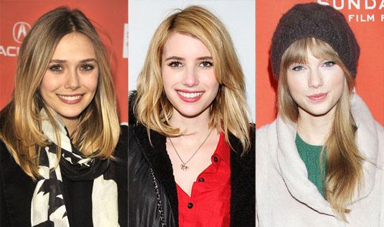 Taylor Swift, Emma Roberts, Elizabeth Olsen