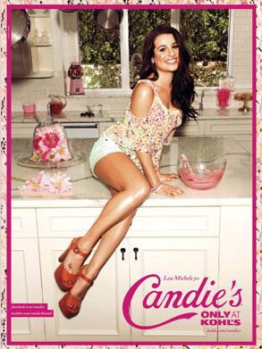 Lea Michele, Candies