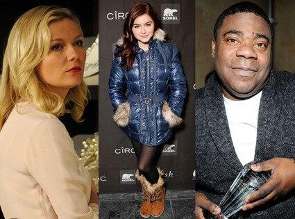 Sundance, Ariel Winter, Tracy Morgan, Bachelorette, Kirsten Dunst