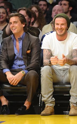 Scott Disick, David Beckham