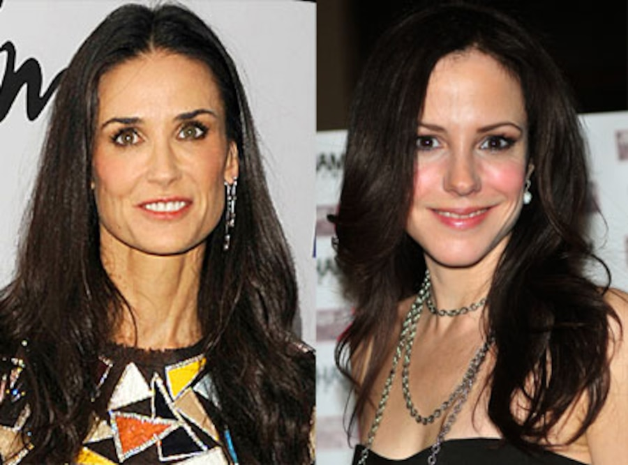 Demi Moore, Mary Louise Parker