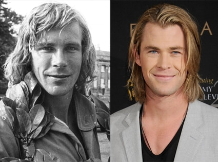 James Hunt, Chris Hemsworth