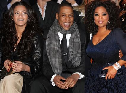 Beyonce Knowle, Jay Z, Oprah