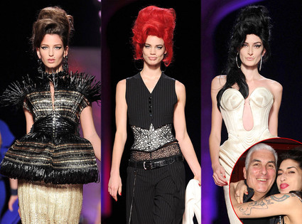 Jean Paul Gaultier, Amy Winehouse, Mitch Winehouse
