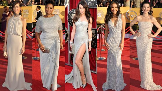 Lea Michele, Octavia Spencer, Naya Rivera, Julianna Margulies, Kristen Wiig