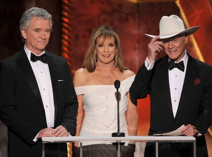 Patrick Duffy, Linda Gray, Larry Hagman