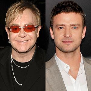 Elton John, Justin Timberlake