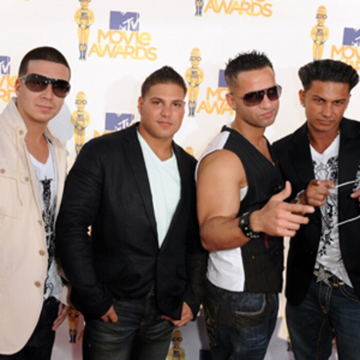 Vinny Guadagnino, Ronnie Magro, Mike The Situation Sorrentino, Pauly Del Vecchio