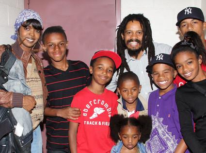 Lauryn Hill, Rohan Marley, Selah Marley