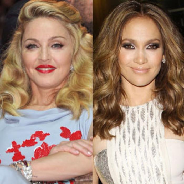 Madonna, Jennifer Lopez