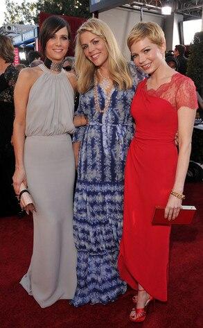 Kristen Wiig, Busy Philipps, Michelle Williams