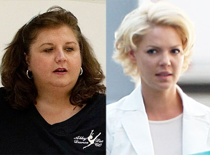 Abby Lee Miller, Katherine Heigl