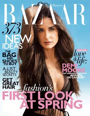 Demi Moore, Harpers Bazaar