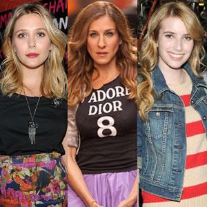 Elizabeth Olsen, Emma Roberts, Sarah Jessica Parker