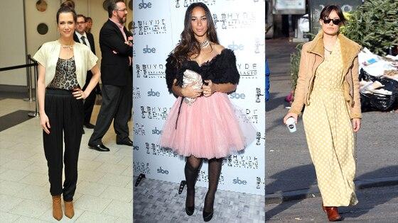 Kristen Wiig, Leona Lewis, Olivia Wilde