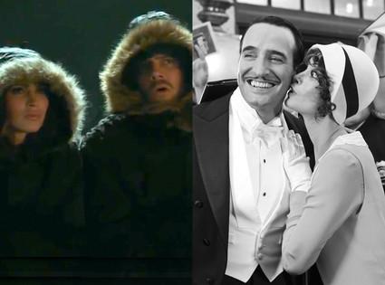 Megan Fox, Josh Duhamel, Oscar Trailer, The Artist, Berenice Bejo, Jean Dujardin
