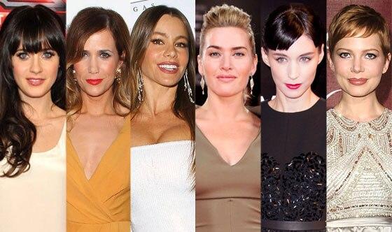Kate Winslet, Rooney Mara, Michelle Williams, Kristen Wiig, Zooey Deschanel, Sofia Vergara