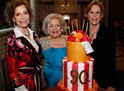 Mary Tyler Moore, Betty White, Carol Burnette